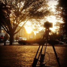 Shooting time lapses in Kenmore Square.